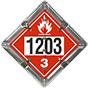 Flammable (All Red) I.D. 1203